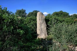 Menhir Iscalas (Nuraghe Scalas) - Muravera