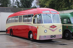yorkcoach2 posted a photo:	Seen here at the depot of Delaine of Bourne. Delaine heritage bus running day.