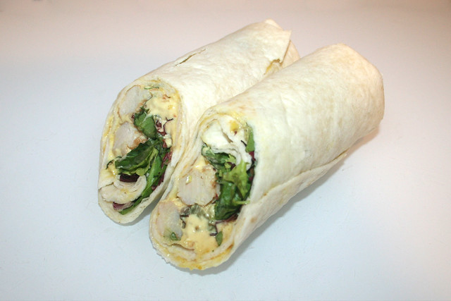 Farm Wrap Chicken Curry