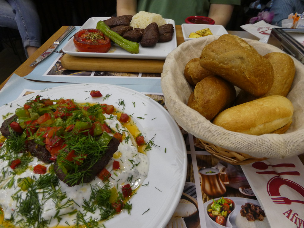Authentic Turkish meal, Istanbul