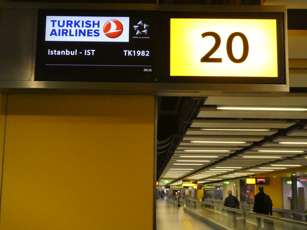 Turkish Airlines Gate, Gatwick Airport