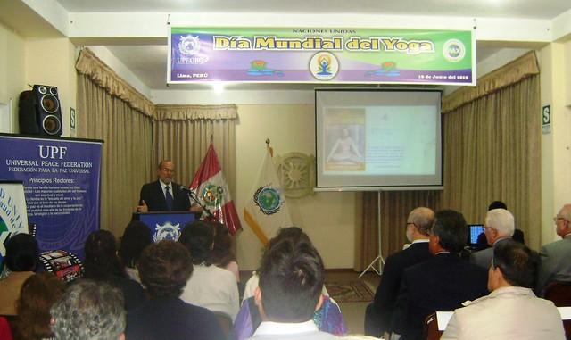 Peru-2015-06-21-UPF-Peru Celebrates International Day of Yoga