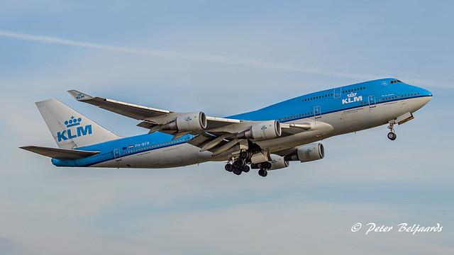 PH-BFR   Boeing 747-400M - KLM Royal Dutch Airlines