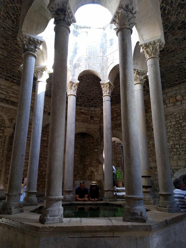 The entrance hall to the Arabian Baths, Girona