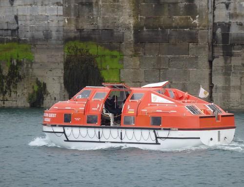 Sebourne Quest lifeboat