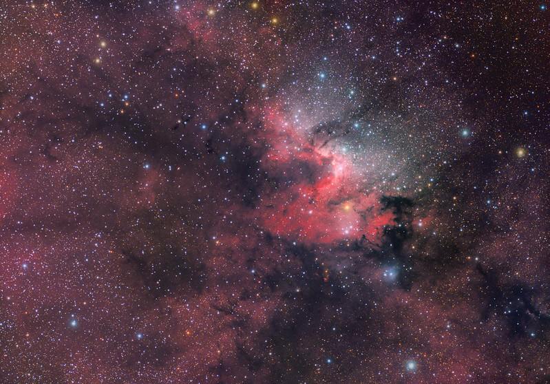 Spelunking: Sh2-155 (The Cave Nebula)