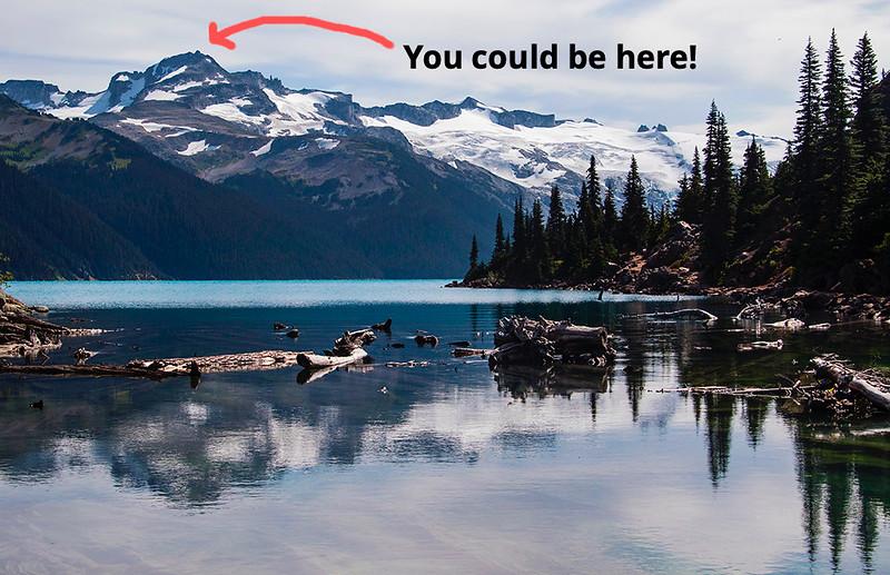 Reflections in Garibaldi Provincial Park