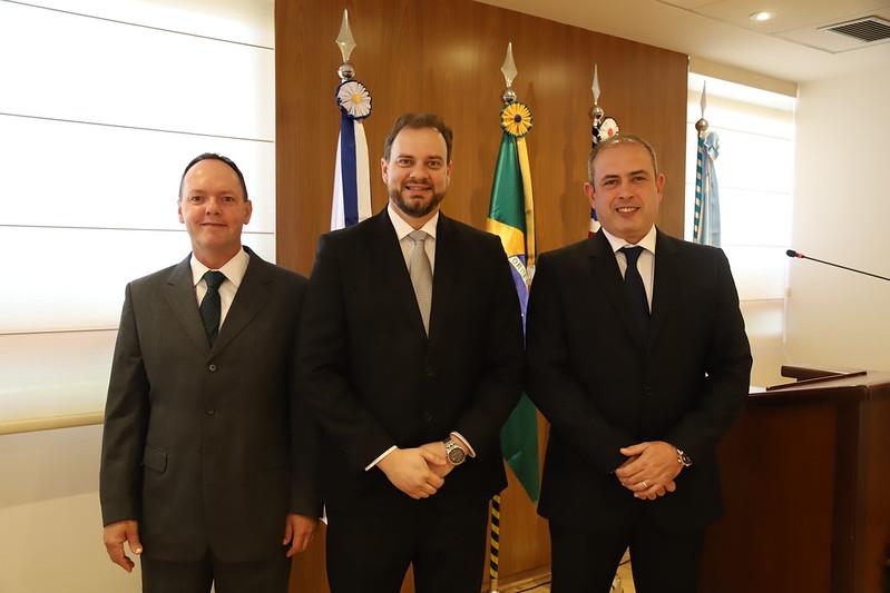 Posse dos Novos Ju�zes Titulares das Varas do Trabalho de Dracena e Santa Cruz do Rio Pardo