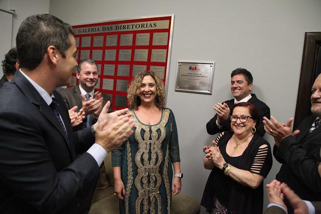 02.10.2019- Solenidade de Entrega de Carteiras a nova advocacia e Inauguração das novas Instalações do Espaço Cultural da Casa da Advocacia e da Cidadania de Santos