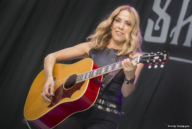 Sheryl Crow and Elle King at Budweiser Stage (Toronto, Ontario) on July 14, 2019