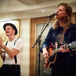 Tue, 10/09/2019 - 7:40pm - The Lumineers FUV Live House Concert, 9.10.19 Photographer: Gus Philippas