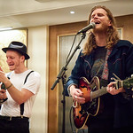Tue, 10/09/2019 - 7:39pm - The Lumineers FUV Live House Concert, 9.10.19 Photographer: Gus Philippas