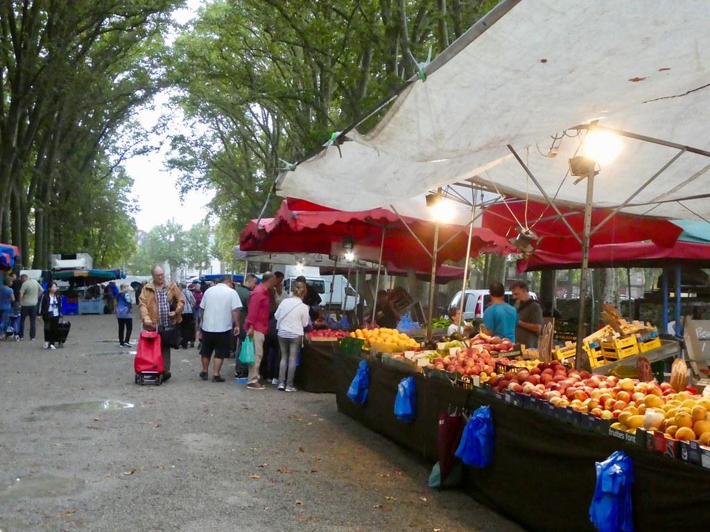 Devesa Street Market Girona