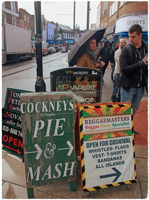 5od Banksy, let's 'ave some pie & mash!