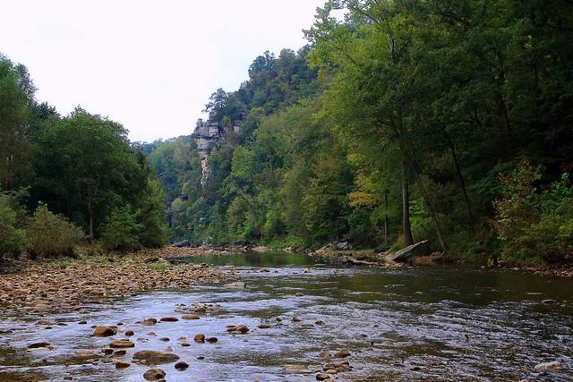 Buffalo River at Roark Bluff - Northwest Arkansas