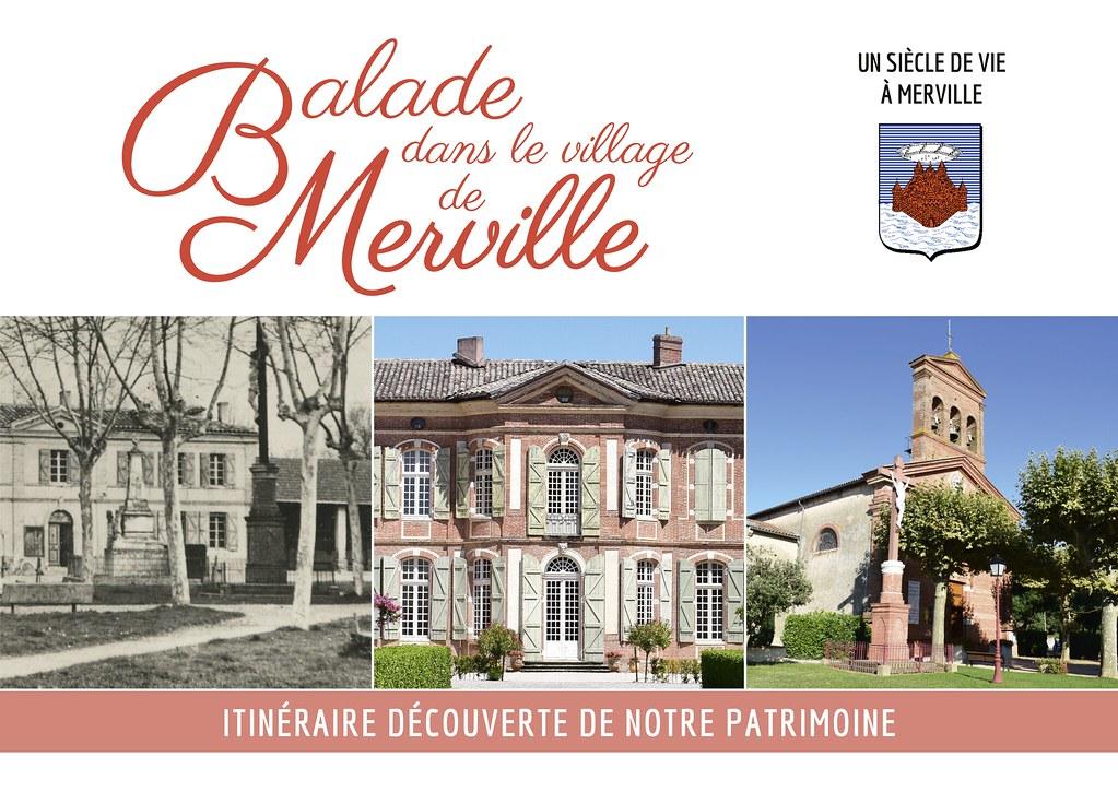 Balade dans le village de Merville (31)