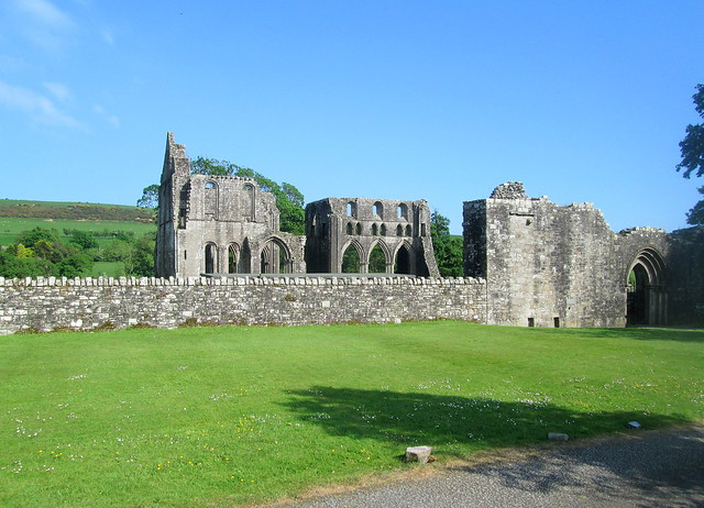Dundrennan Abbey in Dumfries and Galloway
