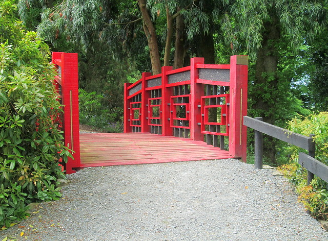 Japanese Bridge, Threave Gardens