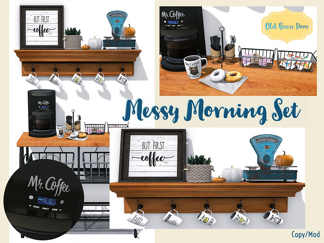{OBD} Messy Morning Set
