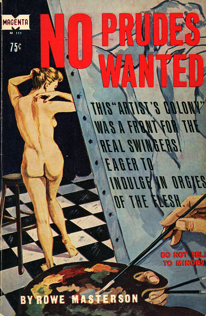 Magenta Books M111 - Rowe Masterson - No Prudes Wanted