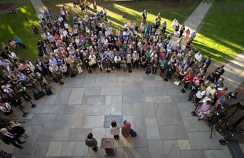 Yale 50th Coeducation Anniversary Stone Dedication