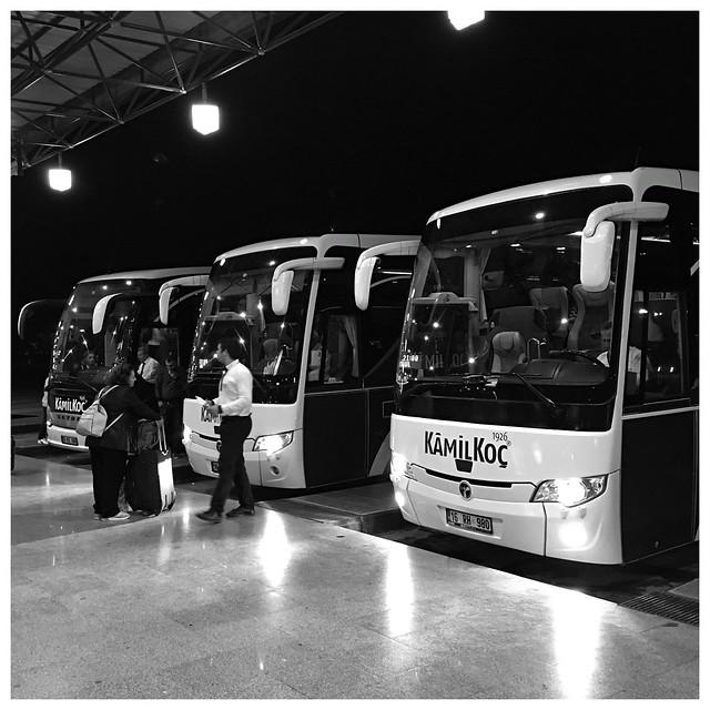 Intercity buses, Eskişehir, Turkey P063