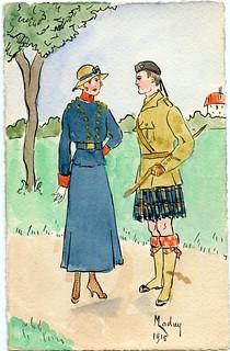 WW1 Carte Postale