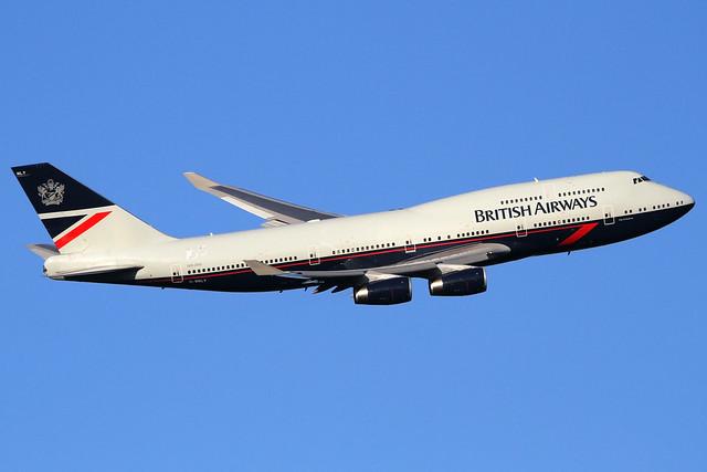 G-BNLY | British Airways Boeing 747-436 | London Heathrow Airport EGLL/LHR | 20/09/19