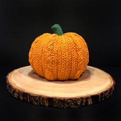 Sweater Pumpkin Cake