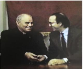 Don Giovanni e Onofrio Resta nel 1990