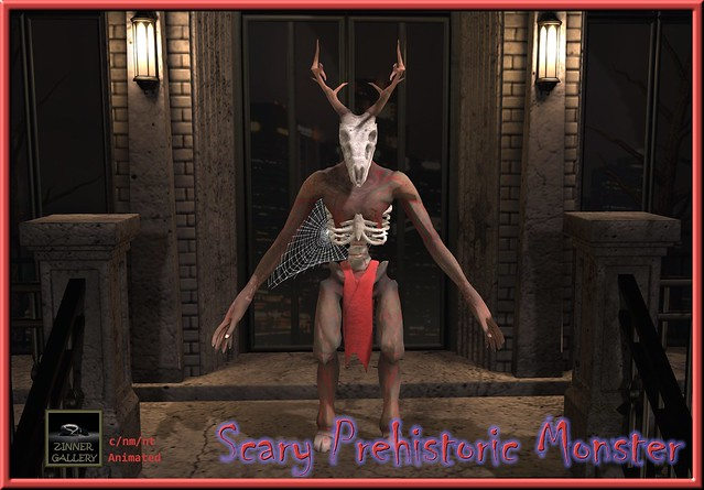 Zinner Shapes & Gallery - Scary Prehistoric Monster