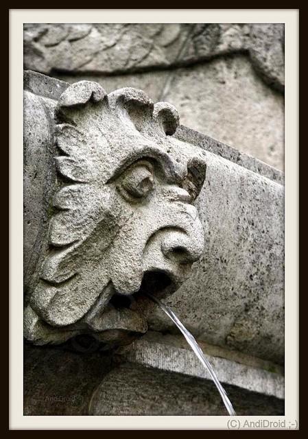 Wasser und Stein [Reihe St. Georg Brunnen] / Alle Rechte vorbehalten © AndiDroid ;-)