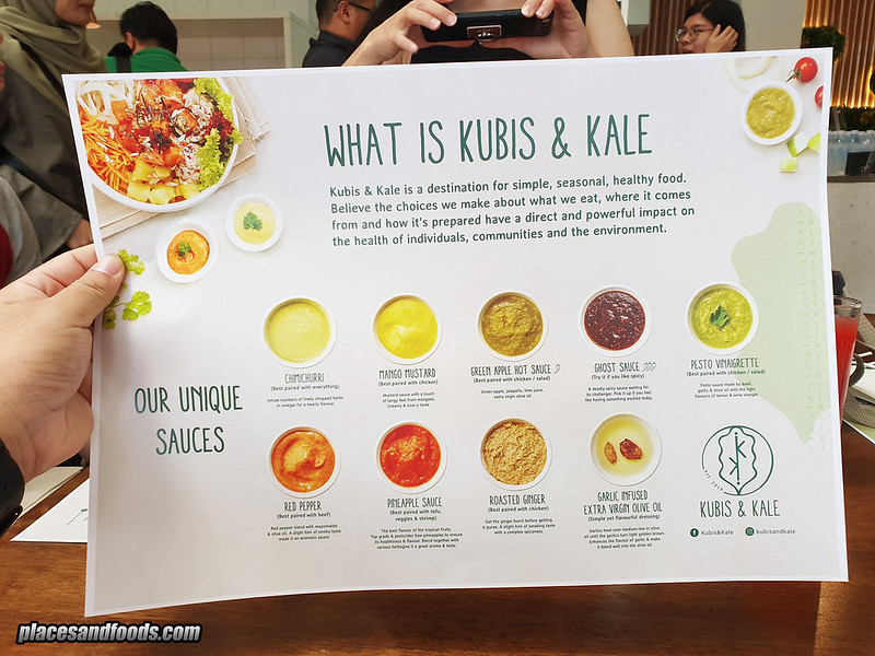 kubis and kale menu