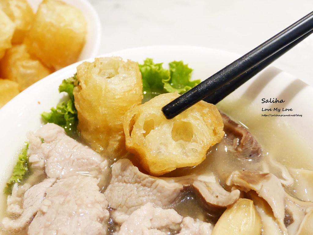 台北東區忠孝復興站必吃美食松發肉骨茶新加坡米其林必比登推薦 (3)