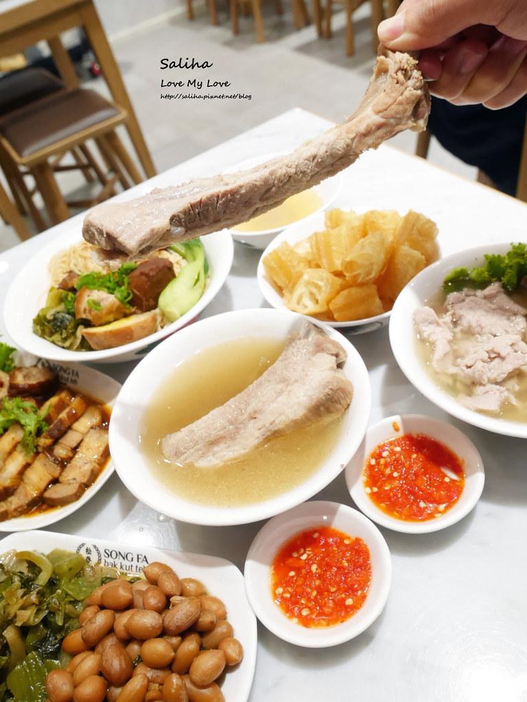 台北東區sogo復興館新加坡米其林指南美食推薦松發肉骨茶餐廳 (3)