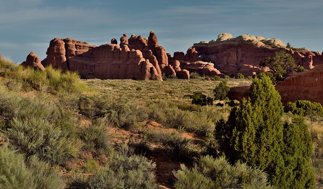 October Morning Amongst the Sandstone Fins (Arches National Park)