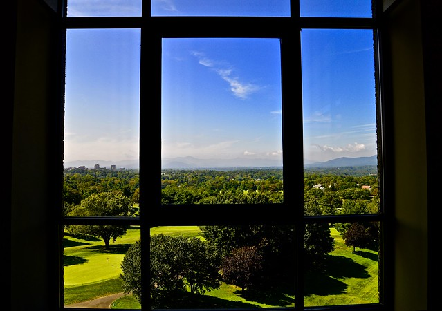 View from Grove Park Inn - Asheville NC