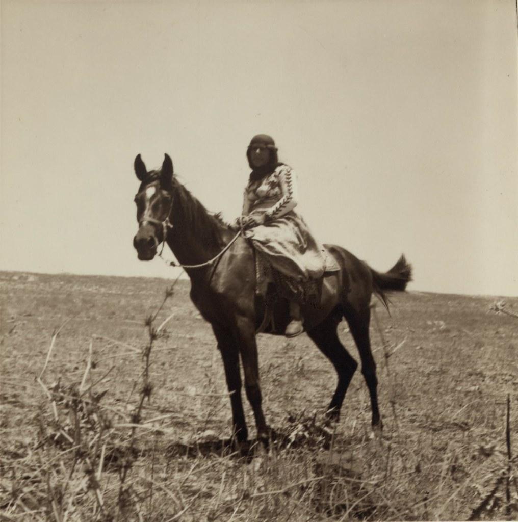 17. 5 июля. Женщина из Галилеи верхом на лошади