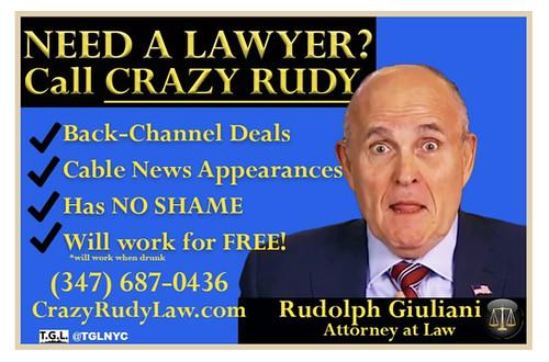 Rudy Lost His Law License