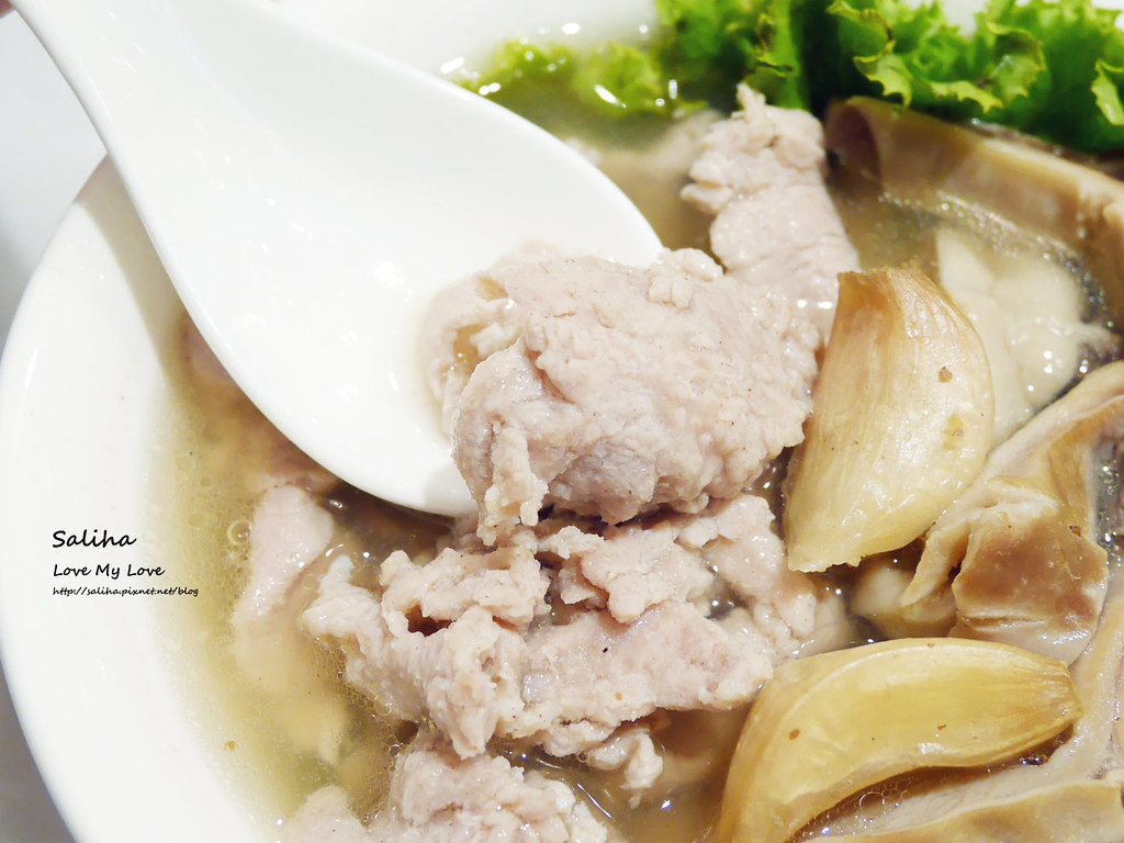 台北東區忠孝復興站必吃美食松發肉骨茶新加坡米其林必比登推薦 (1)