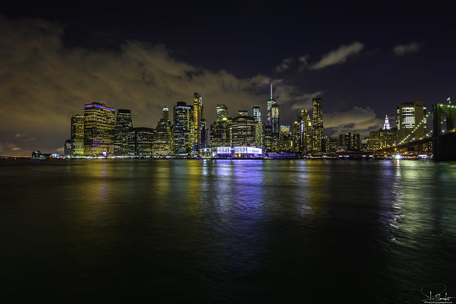 Manhatten Skyline - Brooklyn - USA