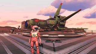 new ship, green