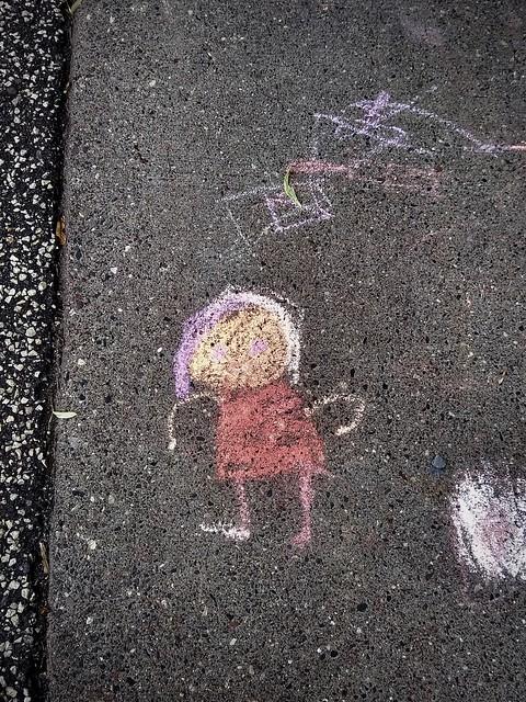 Figure in Chalk