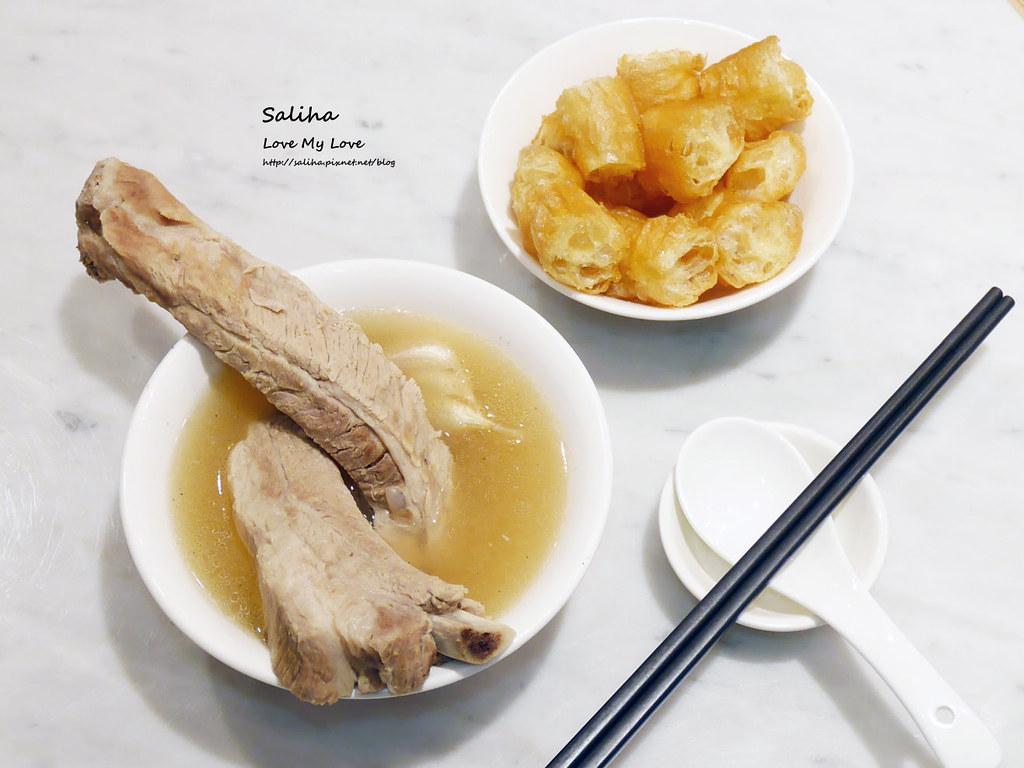 台北東區sogo復興館新加坡米其林指南美食推薦松發肉骨茶餐廳 (2)