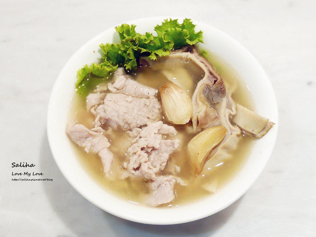 台北東區sogo復興館新加坡米其林指南美食推薦松發肉骨茶餐廳 (1)