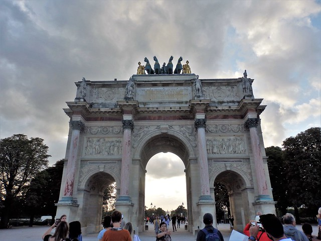 Paris - Arco de Triunfo del Carrousel.