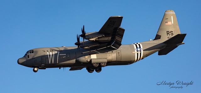 US Air Force C130J Super Hercules