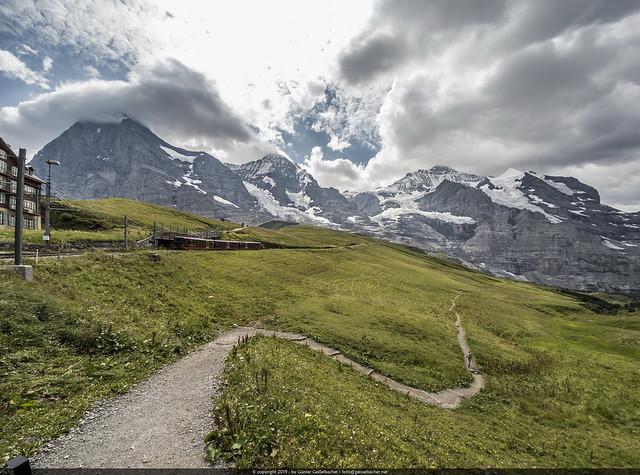 at Jungfrauenjoch