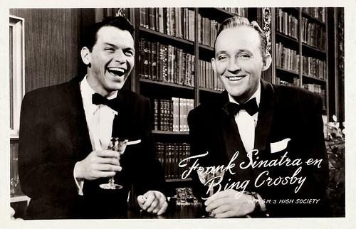 Frank Sinatra and Bing Crosby in High Society (1956)