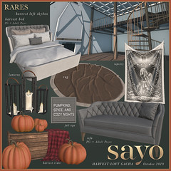 SAYO / Harvest Loft Gacha @ The Arcade October